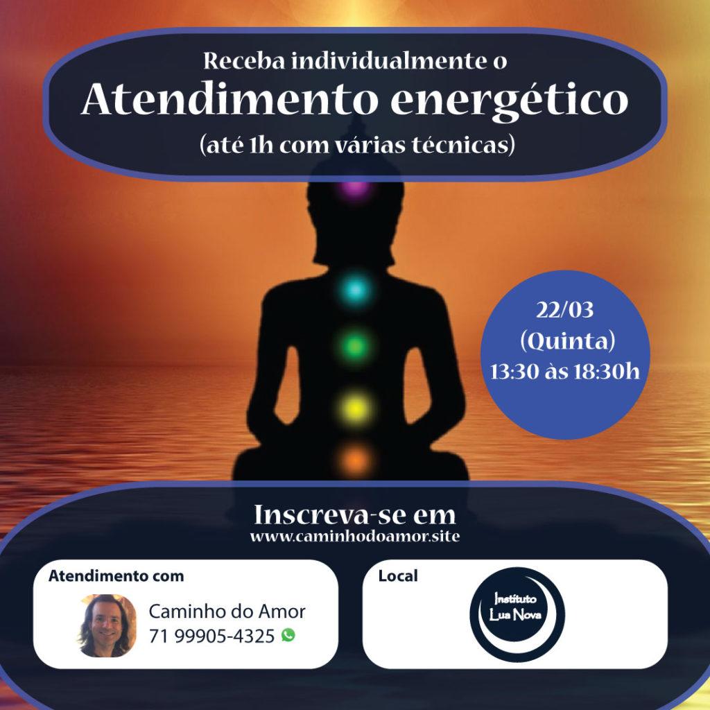 Atendimento Energético - Caminho do Amor 22-03-2018